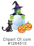 Royalty-Free (RF) Witch Clipart Illustration #1264510