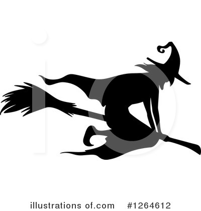 Royalty-Free (RF) Witch Clipart Illustration by Vector Tradition SM - Stock Sample #1264612
