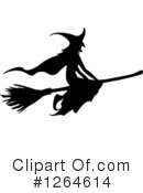 Royalty-Free (RF) Witch Clipart Illustration #1264614