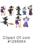 Witch Clipart #1265654 by Graphics RF