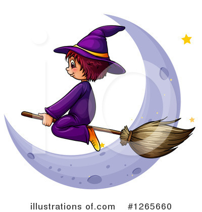 Witch Clipart #1265660 by Graphics RF