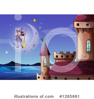Royalty-Free (RF) Witch Clipart Illustration by Graphics RF - Stock Sample #1265661