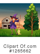 Witch Clipart #1265662 by Graphics RF