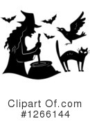Witch Clipart #1266144 by BNP Design Studio