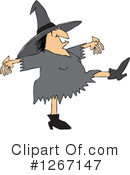 Witch Clipart #1267147 by djart