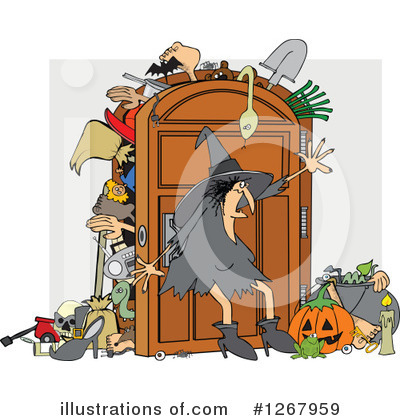 Witch Clipart #1267959 by djart