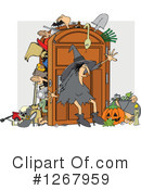 Royalty-Free (RF) Witch Clipart Illustration #1267959