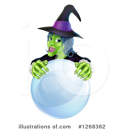 Witch Clipart #1268362 by AtStockIllustration