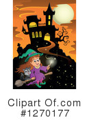 Witch Clipart #1270177 by visekart