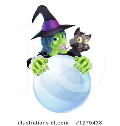 Witch Clipart #1275438 by AtStockIllustration