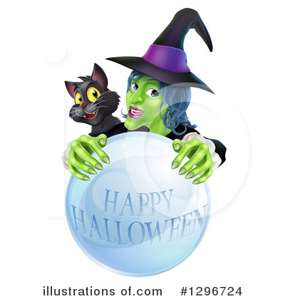 Witch Clipart #1296724 by AtStockIllustration