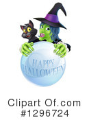 Royalty-Free (RF) Witch Clipart Illustration #1296724