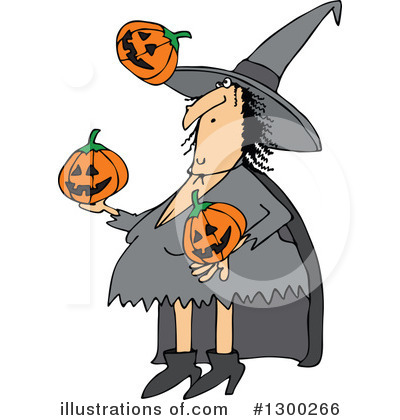 Witch Clipart #1300266 by djart
