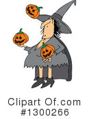 Royalty-Free (RF) Witch Clipart Illustration #1300266