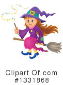 Royalty-Free (RF) Witch Clipart Illustration #1331868