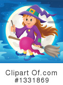 Witch Clipart #1331869 by visekart