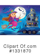 Witch Clipart #1331870 by visekart