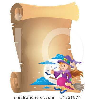 Witchcraft Clipart #1331874 by visekart