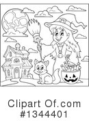 Witch Clipart #1344401 by visekart