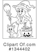 Witch Clipart #1344402 by visekart