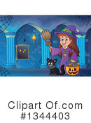 Witch Clipart #1344403 by visekart
