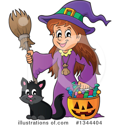 Halloween Clipart #1344404 by visekart