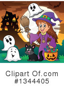 Witch Clipart #1344405 by visekart