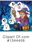 Witch Clipart #1344406 by visekart