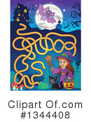 Witch Clipart #1344408 by visekart