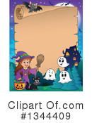 Witch Clipart #1344409 by visekart