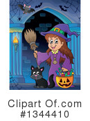 Witch Clipart #1344410 by visekart