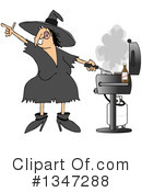 Witch Clipart #1347288 by djart