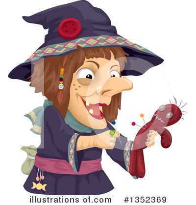 Witch Clipart #1352369 by BNP Design Studio