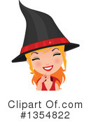 Witch Clipart #1354822 by Melisende Vector