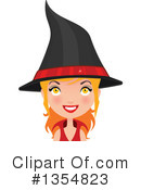 Witch Clipart #1354823 by Melisende Vector
