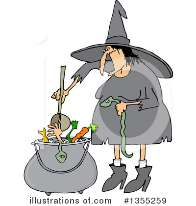 Witch Clipart #1355259 by djart