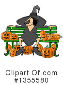 Royalty-Free (RF) Witch Clipart Illustration #1355580