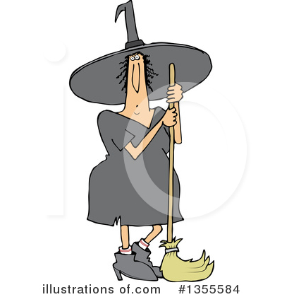Witch Clipart #1355584 by djart