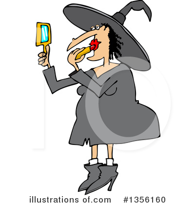 Royalty-Free (RF) Witch Clipart Illustration by djart - Stock Sample #1356160