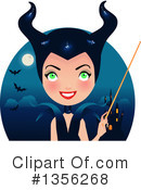Witch Clipart #1356268 by Melisende Vector