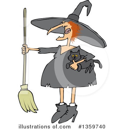 Witch Clipart #1359740 by djart