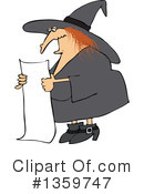 Witch Clipart #1359747 by djart