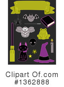 Royalty-Free (RF) Witch Clipart Illustration #1362888