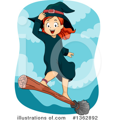 Witch Clipart #1362892 by BNP Design Studio