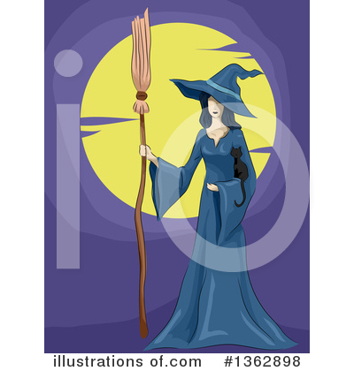 Witch Clipart #1362898 by BNP Design Studio