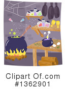 Witch Clipart #1362901 by BNP Design Studio