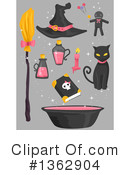 Royalty-Free (RF) Witch Clipart Illustration #1362904