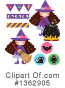 Witch Clipart #1362905 by BNP Design Studio