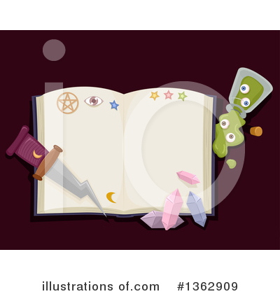Witch Clipart #1362909 by BNP Design Studio