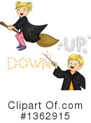Witch Clipart #1362915 by BNP Design Studio